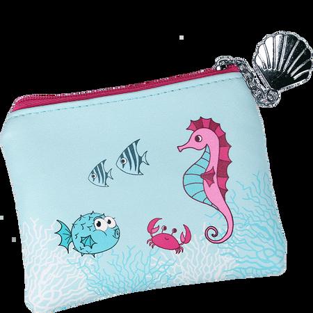 Parsa Kids Unterwasserwelt Täschchen mint-rosa/pink