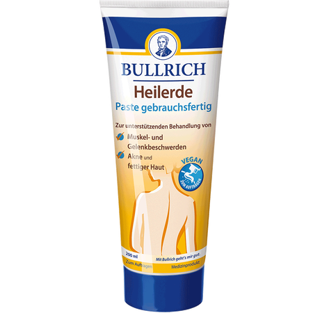 Bullrich Heilerde Paste gebrauchsfertig