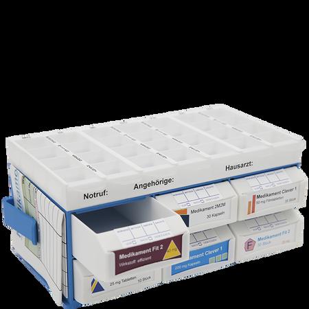 MediaShop Pill Base - Medikamentenaufbewahrung