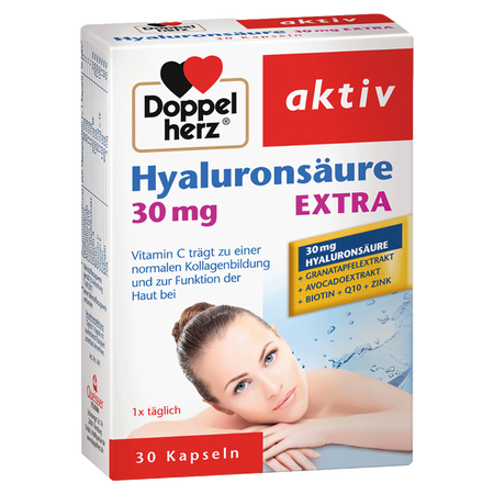 DOPPELHERZ Hyalurosäure 30 mg EXTRA