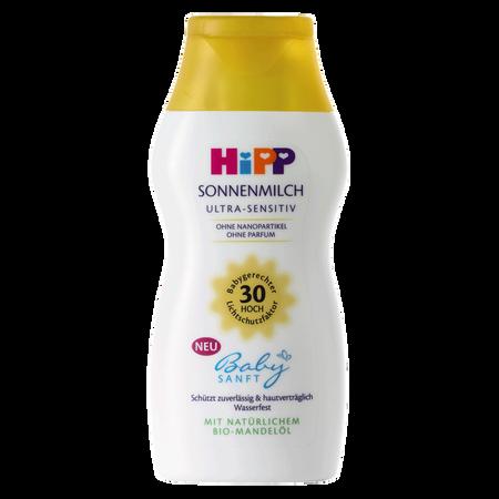 HiPP Babysanft Sonnenmilch LSF 30