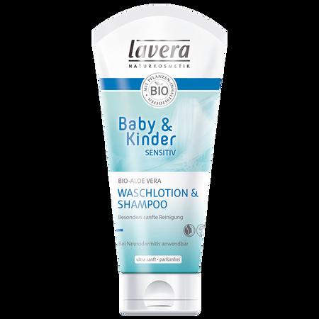 lavera Baby & Kinder sensitiv Waschlotion & Shampoo
