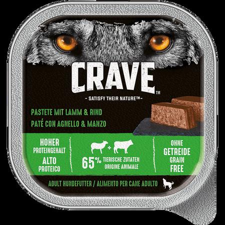 CRAVE Adult Lamm & Rind Hundefutter