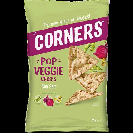 CORNERS Pop Veggie Crisps Sea Salt