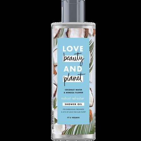 Love Beauty &  Planet Shower Gel Coconut Water & Mimosa Flower