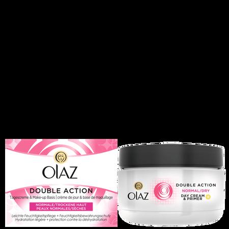 Olaz Essentials Double Action Tagescreme normale Haut