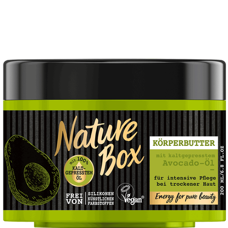 Nature Box Körperbutter Avocado-Öl