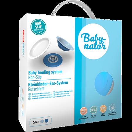 Babynator Kleinkinder-Ess-System blau