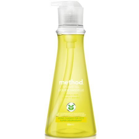 method Geschirrspülmittel Lemon & Mint