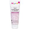 Bild: bi good 2in1 Handcreme & -Maske Flieder