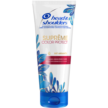head & shoulders Supreme Rot Spülung