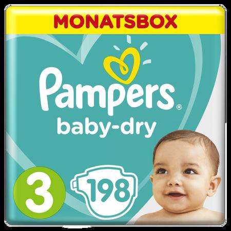 Pampers Baby Dry Gr.3 Midi 6-10kg MonatsBox