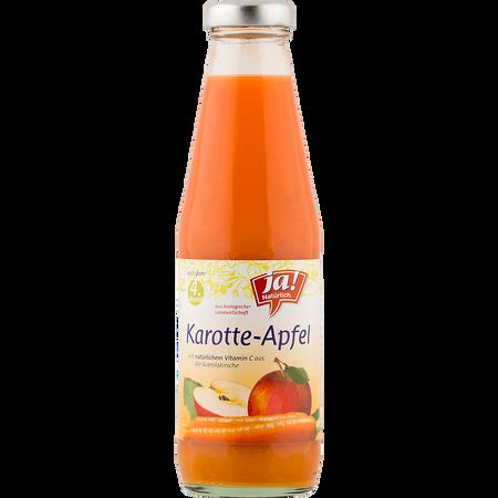 ja! Natürlich. Karotten-Apfel-Saft