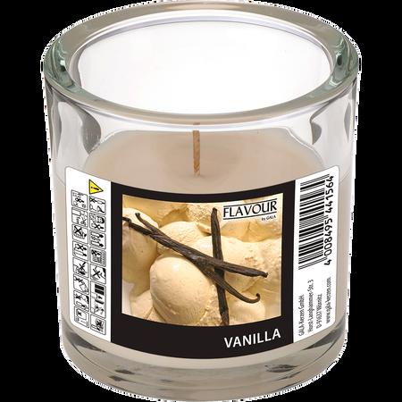 Gala Duftkerze Glas Creme-Vanille