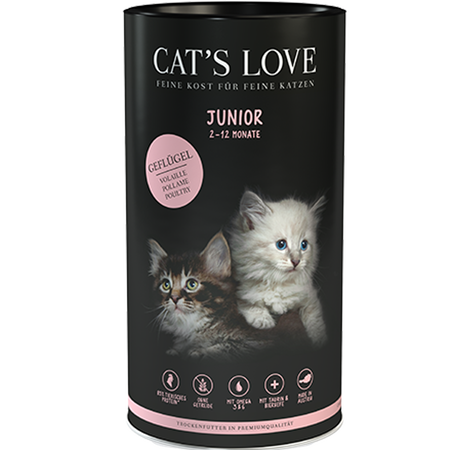 CAT´S LOVE Junior Geflügel Trockenfutter