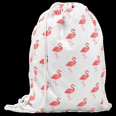 LOOK BY BIPA Turnbeutel Flamingo