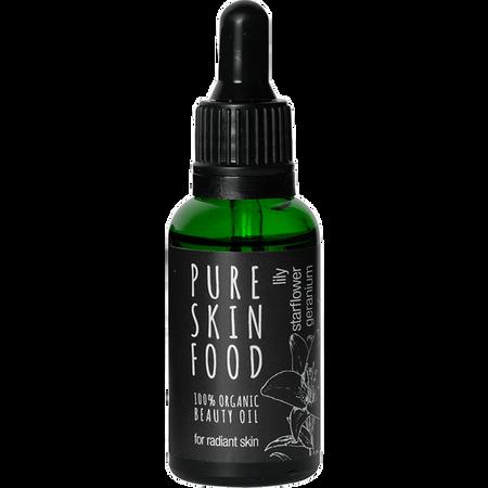 Pure Skin Food Bio Beauty Öl Lilie Sternblume Geranie