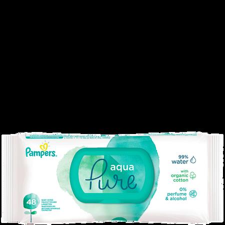 Pampers Feuchttücher Aqua