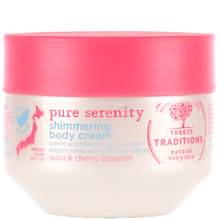 TREETS TRADITIONS pure serenity shimmering body cream