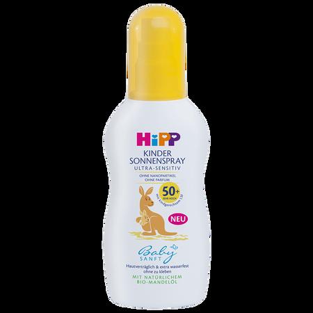 HiPP Babysanft Kindersonnenspray Ultra-Sensitiv LSF 50+