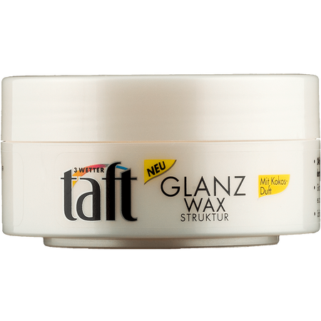 Schwarzkopf 3 WETTER taft Hairstyle Gel-Wax