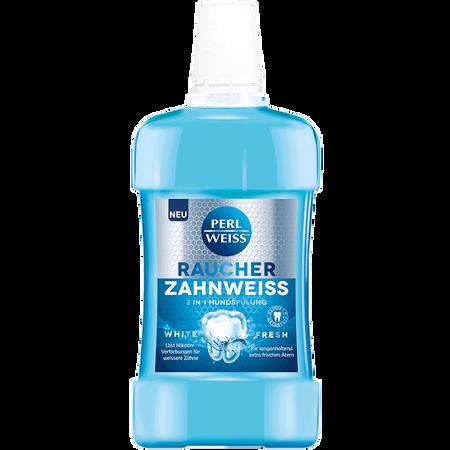 PERLWEISS Raucher Zahnweiss 2in1 Mundspülung