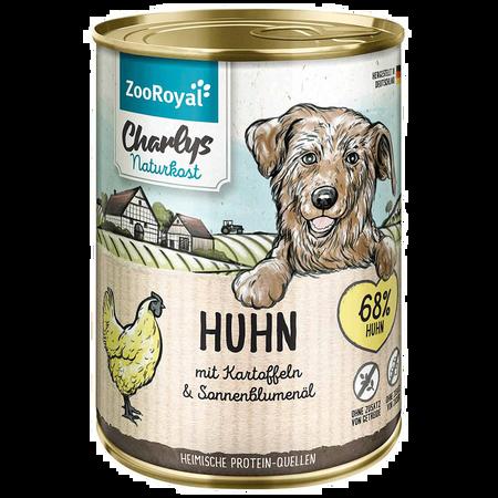 ZooRoyal Charlys Naturkost Huhn mit Kartoffeln Hundefutter