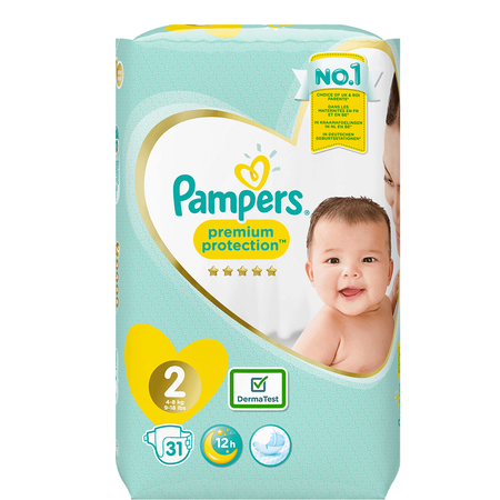 Pampers Premium Protection Newborn Gr. 2 (4-8kg)