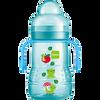 Bild: MAM Trainer+ 220ml - Babyflasche und Becher Blau