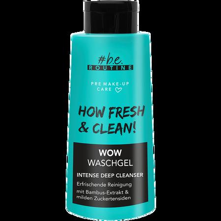 b.e. ROUTINE Wow Waschgel Intense Deep Cleanser