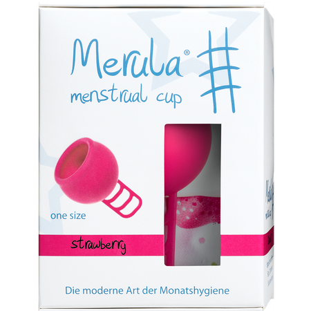 Merula Merula Cup strawberry Menstruationstasse