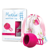 Bild: Merula Merula Cup strawberry Menstruationstasse