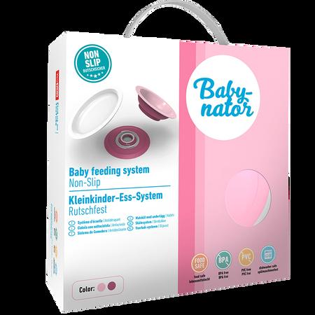 Babynator Kleinkinder-Ess-System rosa