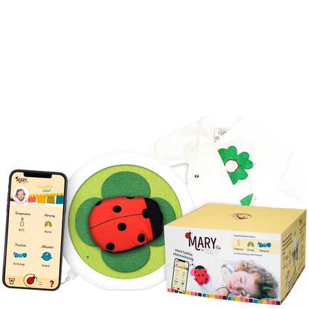 Mary by Sticklett Babyphone - Smart Fashion Vital Monitoring