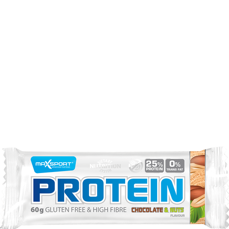 Max Sport Protein Chocolate & Nuts Riegel