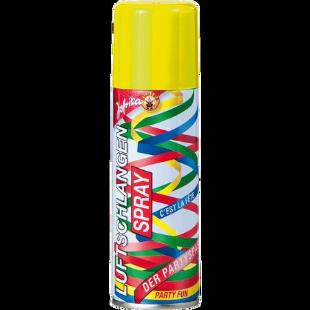 Jofrika Luftschlangenspray gelb