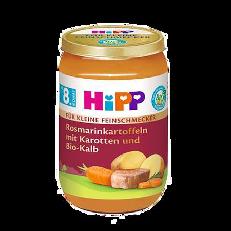HiPP Feinschmecker Menü Rosmarionkartoffeln mit Bio-Kalb