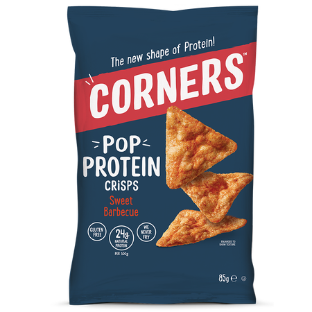 CORNERS POP Protein Crisps Sweet Barbecue