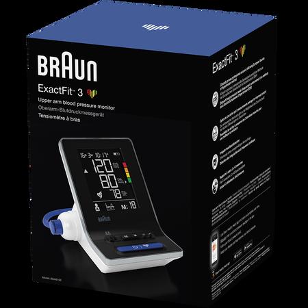 Braun BUA6150WE ExactFit 3 Oberarm-Blutdruckmessgerät