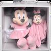Bild: Disney's Minnie Schmusetuch und Plüschtier Set Pink