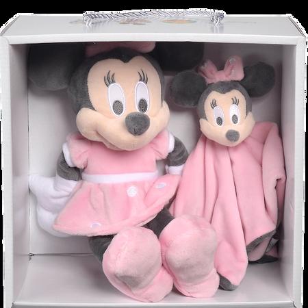Disney's Minnie Schmusetuch und Plüschtier Set Pink