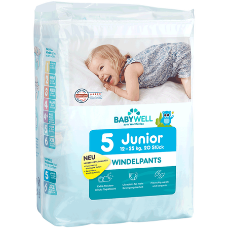 BABYWELL Windelpants Junior Gr. 5