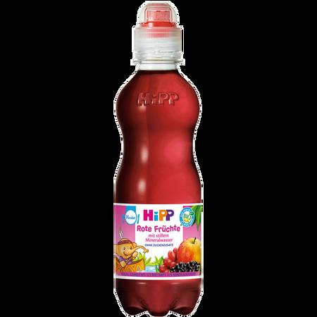 HiPP Rote Früchte mit stillem Mineralwasser