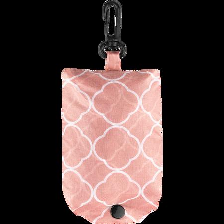 LOOK BY BIPA Falttasche rosa gemustert