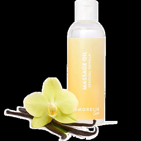 AMORELIE Massageöl Sensual Vanilla