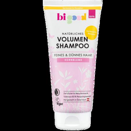 bi good Volumen Shampoo Kornblume