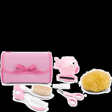 Chicco Kulturtasche mit Inhalt rosa