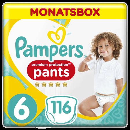 Pampers Premium Protection Pants Gr.6 Extra Large 15+kg Monatsbox