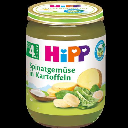 HiPP Spinatgemüse mit Kartoffeln