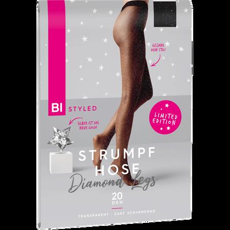 BI STYLED Diamond Legs Strumpfhose schimmernd 20 DEN